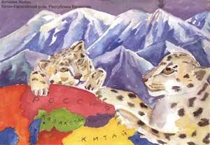 Рисунок: Жибек Алтаева, Ктон-Карагайский р-он, Республика Казахстан