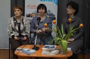 Ольга Григорьева, Лариса Мартынова и Наталья Щепко