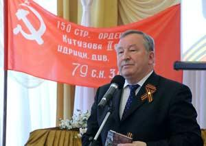 Выступает Губернатор края Александр Карлин