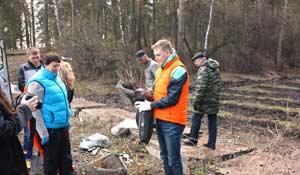 к общероссийской акции «Лес Победы» присоединились жители Барнаула