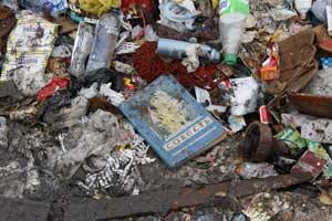 В груде мусора – детская книжка с проникновенным названием – «Совесть». Где она, совесть человеческая?..