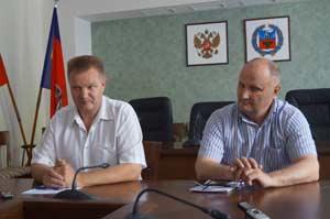 Сергей Бровко и Юрий Пецух