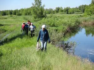 Жители Хабарского района поддержали Всероссийскую акцию «Нашим рекам и озёрам – чистые берега!»