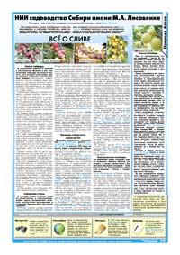 29 страница. НИИ садоводства Сибири имени М.А. Лисавенко