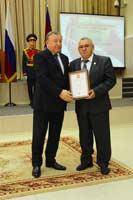 благодарность Президента Российской Федерации объявлена научному сотруднику НИИ региональных медико-экологических проблем Владимиру Горбачёву
