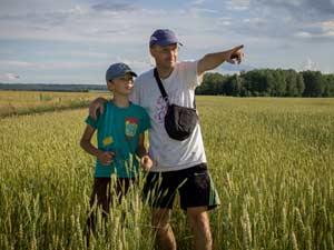 Велоэкспедиция «Караван» и её руководитель Александр Скачко в спецвыпуске «Начни с дома своего»
