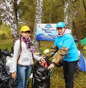 Акция «Чистые реки Алтая»