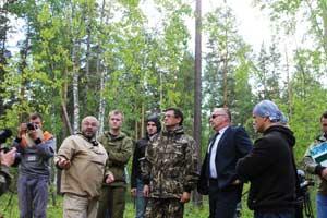 Рабочая группа с представителями центрального штаба ОНФ в рейде в Алтайском крае