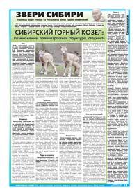 89 страница. Тематическая страница. Звери Сибири