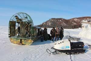 Открыт сезон зимней навигации