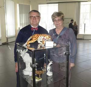 Сергей Писарев со своей сестрой Галиной Ушаковой
