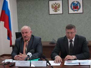 Василий Дериглазов и Евгений Батурин