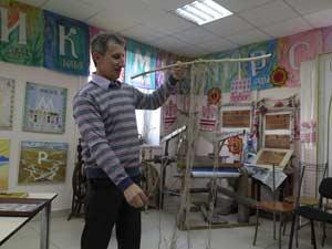 Андрей Покидаев рассказывает о технике узелкового письма