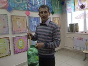 Демонстрация экологичного хранения пластиковых пакетов